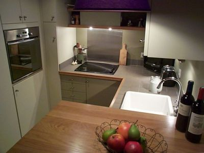 Modern appliances, plenty of space for cooking wonderful meals.