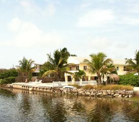 Big Pine Key house photo - A view from across the neighbor's.