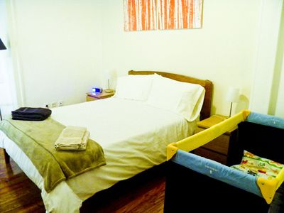 Baixa apartment rental - Baby bed available