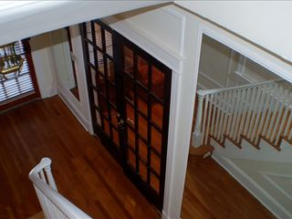 Downtown - Washington DC house photo - View from main stairwell/front door and french doors to living rm