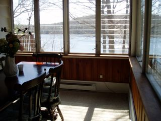 Brewster house photo - dining room overlooks lake