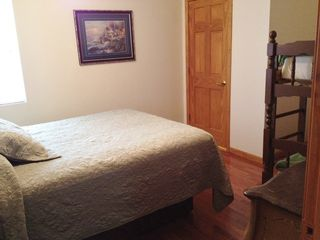 Laurie house photo - Queen Bed in Bunk Bed Room allows additional sleeping quarters