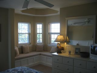 second bedroom with private balcony - Beach Haven townhome vacation rental photo