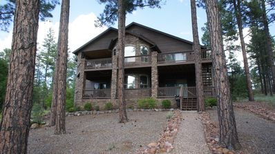 Beautiful Cabin at Torreon with Golf Course and Lake Views.