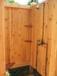 Outdoor Shower - interior