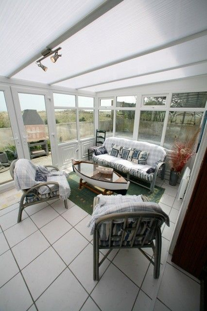 conservatory seating area