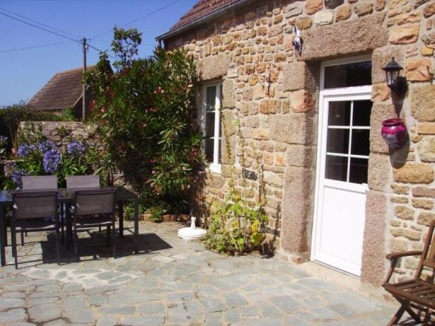 Gite Néville sur Mer, 2 bedrooms, 4 persons