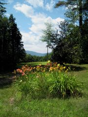 North Conway estate photo - 12 acre property, 1.5 acres of lawn & flower gardens around home