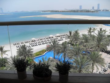 Palm Jumeira apartment rental - amazing sea view