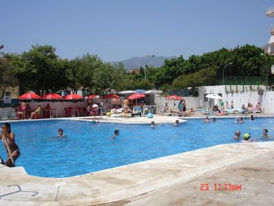 Benalmadena apartment rental - View of Swimmimg pool