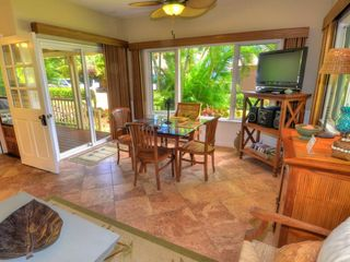 Poipu house photo - All New Blinds, Ceiling Fans.... TV, DVD, Movies, Stereo, Games, I-Home, Books