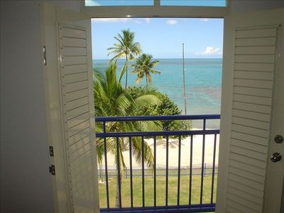 Cabo Rojo apartment rental - Juliet Balcony in Master Bedroom