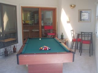 Virginia Beach house photo - Pool and game room (you could spend ALL suimmer here without getting bored!)