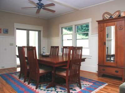 Dining Room seats up to 8 for an elegant dinner