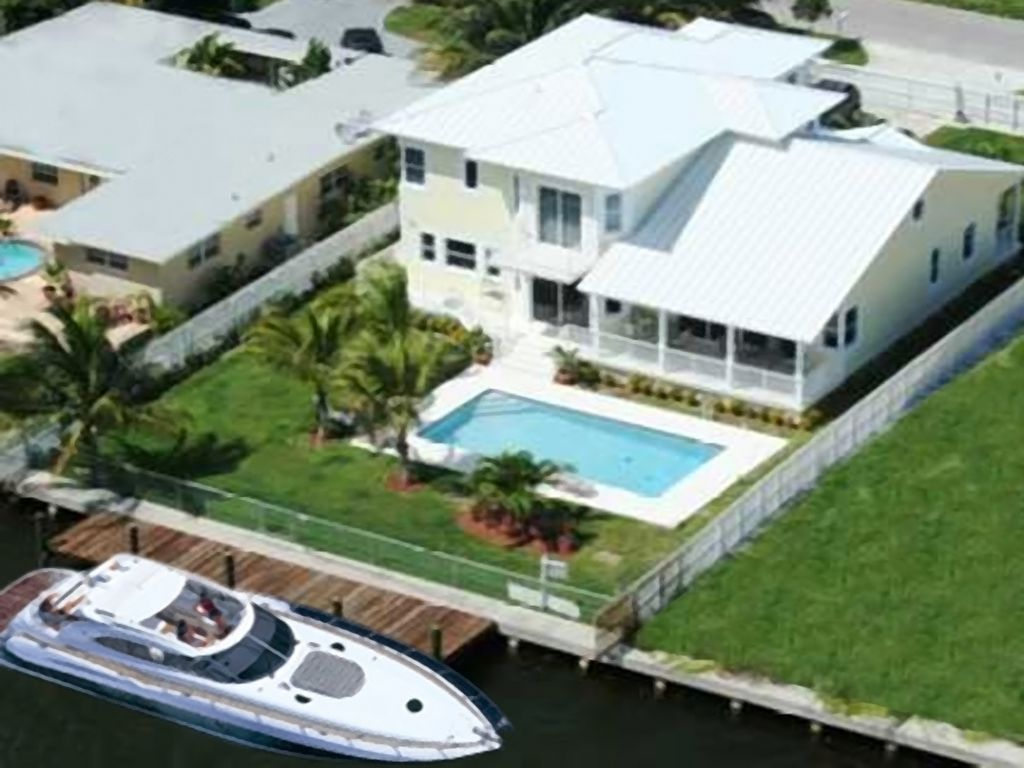 Miami Beach House 5 Bdrm, Key West Style Luxury Waterfront wheated