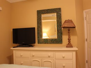 "Oceans Mist Ocean City condo photo - Full sized Dresser, Mirror, 32"" TV"