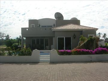 Mazatlan house rental - Back of home