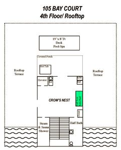 FLOORPLAN: 4th Floor/ Rooftop