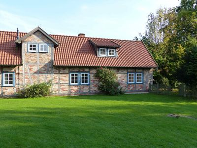 Beautiful half-timbered house with room for 5 people at the edge of Rundlingsdorf