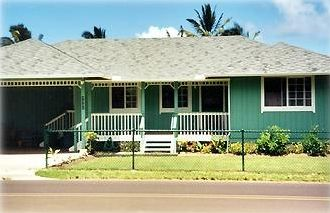 Centrally located, our vacation home is walking distance to the town or beach.