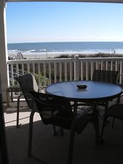 Isle of Palms condo photo - Lay in bed and see the ocean.