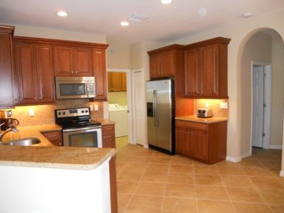 All the comforts and convenience of home in this well appointed kitchen