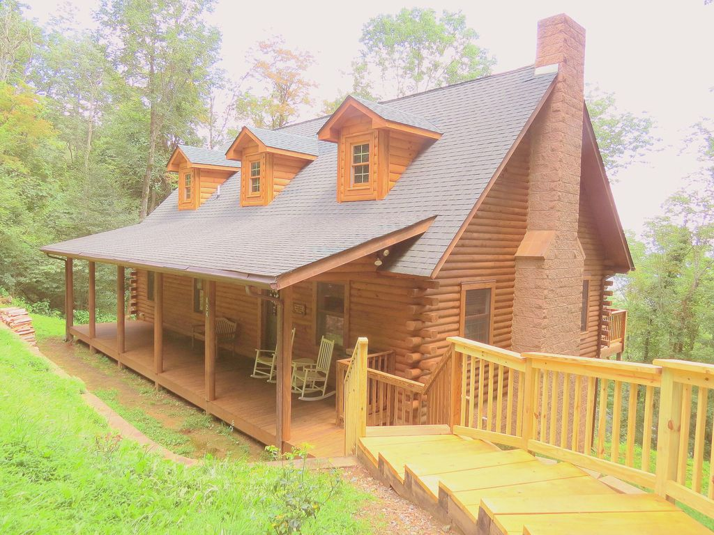 Alpine Log Cabin Cozy Comfortable Vrbo