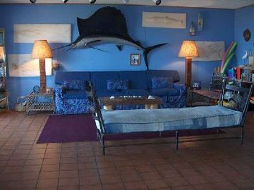 Port Aransas condo rental - Living Room