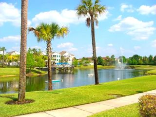 Runaway Beach Resort condo photo - Tropical lagoon with walking/jogging path