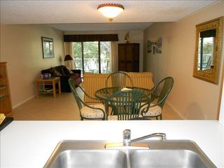 Amelia Island condo photo - Easy Kitchen to Dining access.