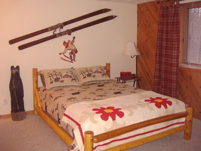 Harbor Springs condo rental - Lower Level Bedroom w/Private Bath