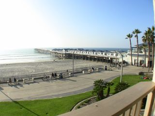 Pacific Beach condo photo - ONE OF MANY VIEWS FROM THE THREE DECKS
