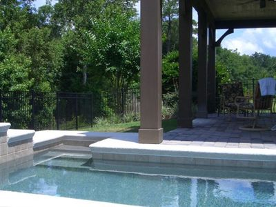 Reunion house rental - Relax in the pool's private setting.