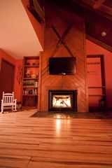 Beech Mountain condo photo - New cozy fireplace!