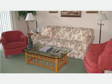 Boyne City condo rental - Living Room