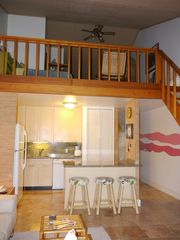 Kahuku - Turtle Bay condo photo - Kitchen and loft