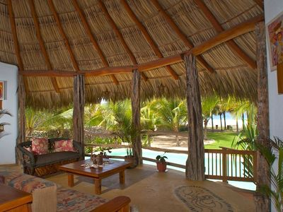 Palapa Great Room with stunning Ocean view