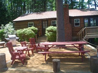 Lake Winnisquam cottage photo - Another outdoor sitting area look
