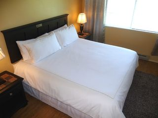 Twin Lakes condo photo - Another view of the master bedroom, king sized bed with 600 thread count sheets.