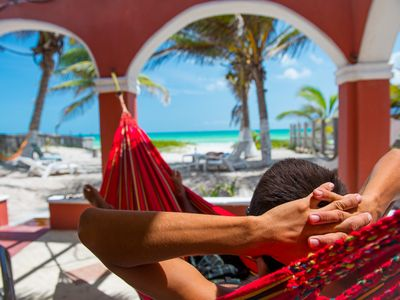 Mexican Way of Life, no stress no hassle ...on the Beach, GF Terrace