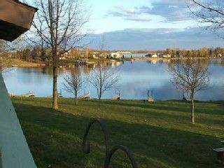 Gladwin cottage rental - View of the Lake