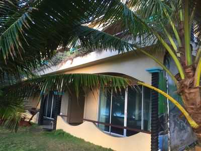 BEACHFRONT CABANAS  (option to rent individually 1-4 rooms)