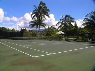 Hanalei house photo - Tennis Court