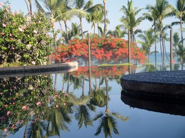 The Infinity Pool....Taken in early morning in Aug. 2012. It was breathtaking.