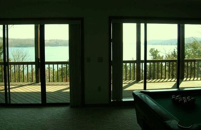 Lakeview from Family Room is Spectacular!