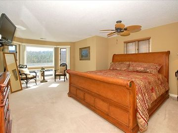 Spacious Master Suite Offers King-Size Bed, Sitting Area and Large Master Bath.