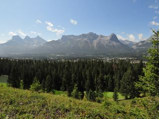 Canmore house photo - Breathtaking views!! (Photo taken from rear of property)
