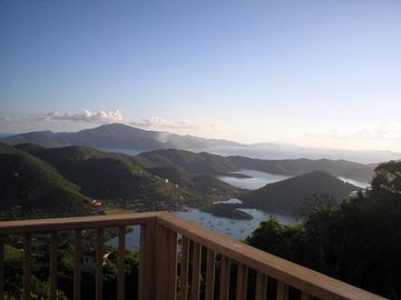 Coral Bay house rental - Incredible view from deck