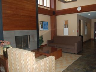 Winter Park condo photo - Lobby seating by the fireplace - Great gathering spot