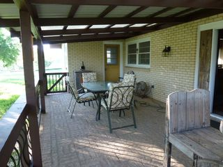Lampasas house photo - Here's where we spend most of our time at Creekside. It has a beautiful view!